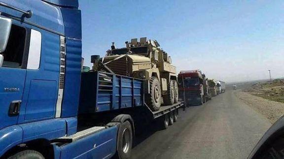 آمریکا به سوریه تجهیزات نظامی ارسال کرد