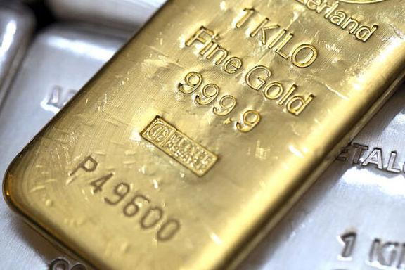 تثبیت قیمت جهانی طلا در معاملات امروز