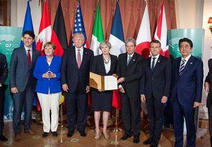 هفت کشور صنعتی جهان موسوم به «جی 7» از توافق هستهای ایران حمایت کرد
