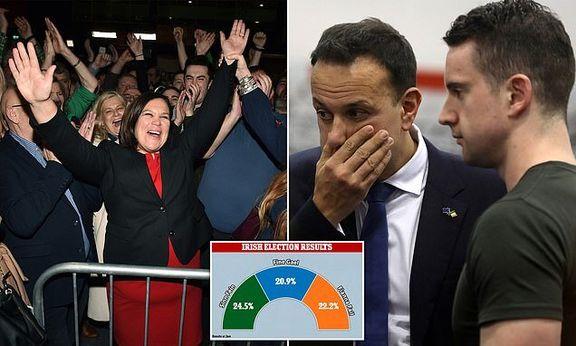 حزب ناسیونالیستی که خواستار عضویت در پارلمان ایرلند شد