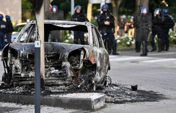 درگیری های شدید در دیژون فرانسه به دلیل اعتراضات نژاد پرستی