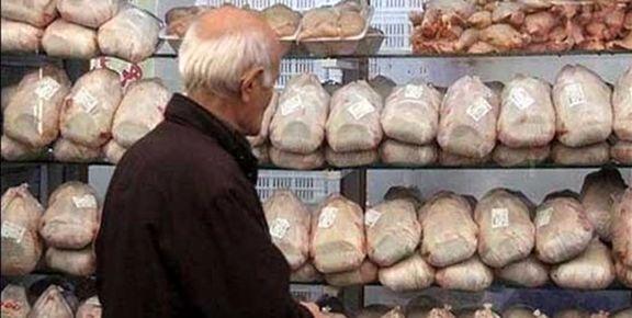 قیمت مرغ همچنان به سقف چسبیده و قول مسؤولان هم عملی نمیشود