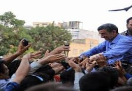 فیلم حرف های احمدی نژاد درباره قطعی برق