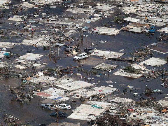 طوفان دوریان جان 43 نفر را در باهاما گرفت