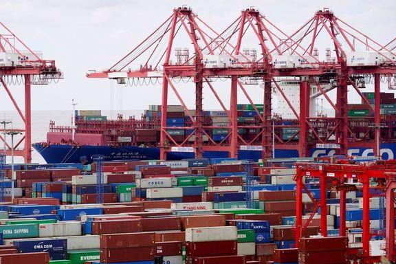 مازاد تجاری چین با آمریکا در ماه می از 30 میلیارد دلار عبور کرد