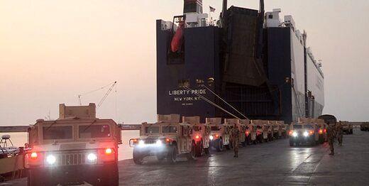 هدیه نظامی امریکا به ارتش لبنان+عکس