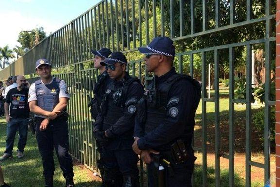 ورود حامیان گوآیدو به سفارت ونزوئلا در برزیل