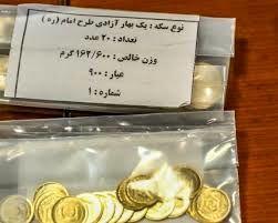 سکه های پیش فروش بانک مرکزی از فردا تحویل داده می شود