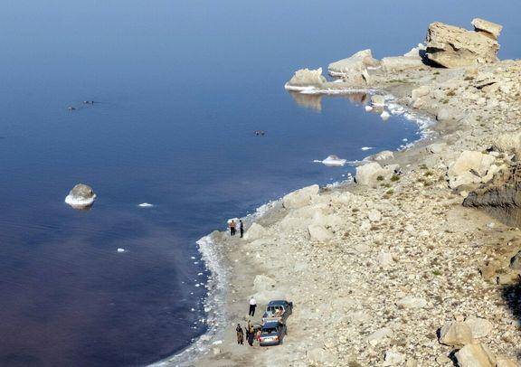 وسعت دریاچه ارومیه نسبت به زمان مشابه سال گذشته یکهزار و ۱۰۴ کیلومترمربع افزایش یافت