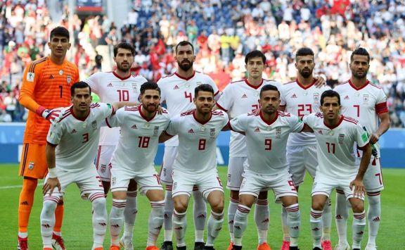 ترکیب  ایران برای دیدار مقابل هنگ کنگ