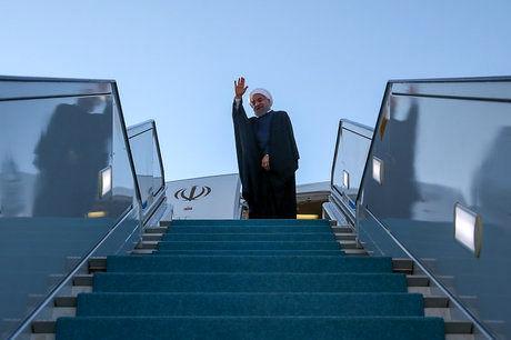حسن روحانی در رأس یک هیئت بلندپایه سیاسی و اقتصادی راهی بغداد شد