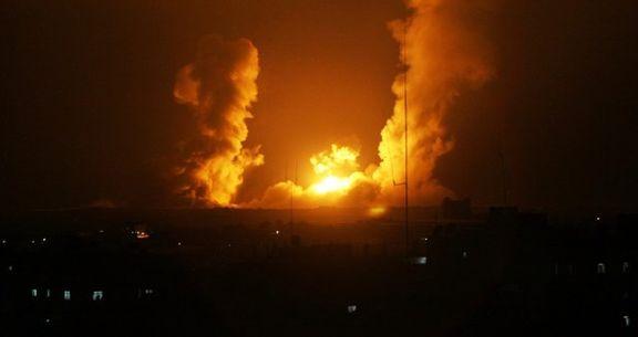 اسرائیل به غزه حمله پهپادی کرد