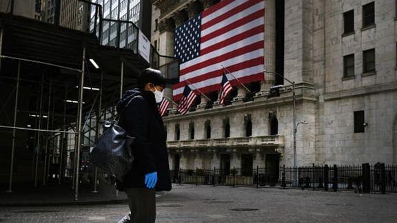 افت شاخصهای آمریکایی با بیکاری 2.4 میلیون نفر دیگر در کشور