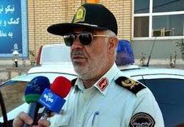 دستگیری عامل بی حرمتی به مجری قانون و منتشر کننده فیلم آن در فضای مجازی توسط پلیس خراسان شمالی