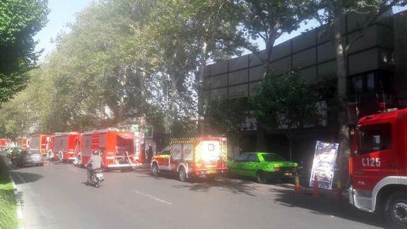آتش سوزی این بار  یک سینما در تهران