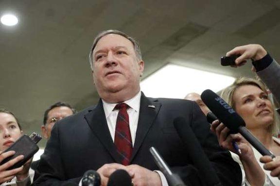ادعای جدید پمپئو علیه ایران: ایران به تازگی موشک بالستیک آزمایش کرده است