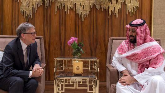 بیل گیتس حمایت مالی از بنیاد محمد بن سلمان را قطع کرد