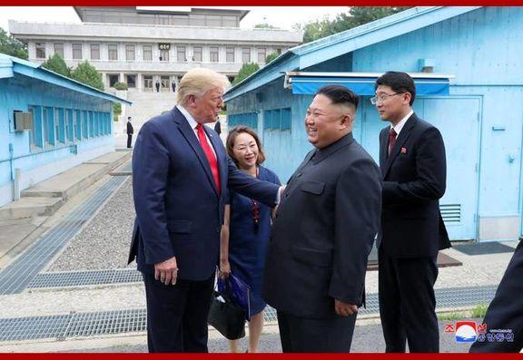 ترامپ از خنده های کیم جونگ اون می گوید