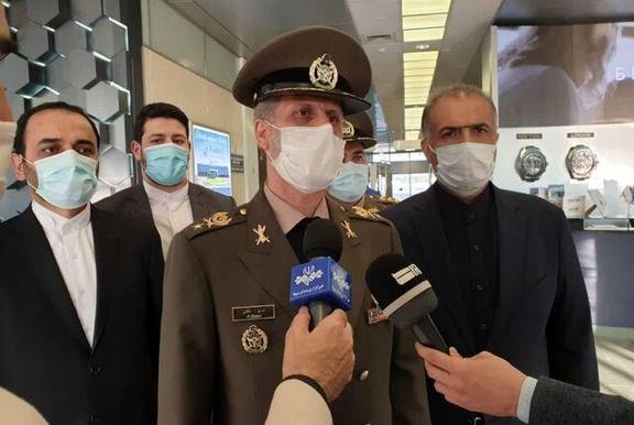 برنامههای وزیر دفاع در  مسکو