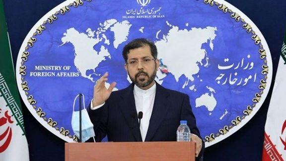 خطیبزاده: ایران هیچ پیام مستقیم یا غیرمستقیمی از آمریکا دریافت نکرده است