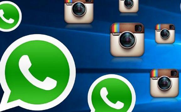 فیس بوک نامهای اینستاگرام و واتس آپ را تغییر می دهد