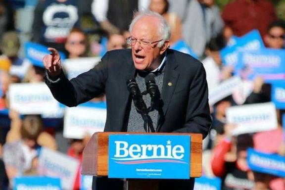برنی سندرز  پرطرفدارترین نامزد انتخابات ریاست جمهوری آمریکا