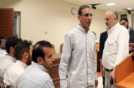 صحبت های جالب سلطان سکه و همدستش قبل از اعدام + ویدئو