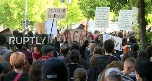 گسترش موج اعتراضات آمریکا علیه نژادپرستی به آلمان