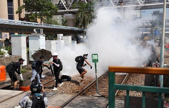 هدف آمریکا ناآرام کردن هنگ کنگ است