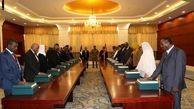 دولت انتقالی سودان سوگند یاد کرد