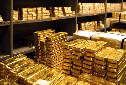 کاهش قیمت جهانی طلا به ۱۸۸۷ دلار