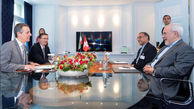 نشست مشترک رییسجمهور و هیات تجاری با همتایانشان در سوییس