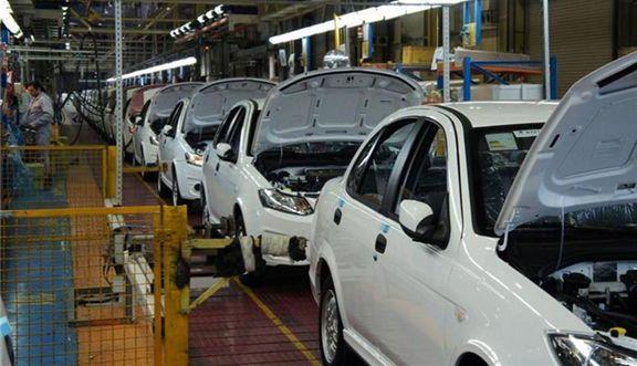 تولید خودرو سواری ۱۳۴ درصد افزایش یافت