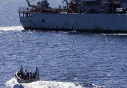 فیلم از حمله به کشتی ترکیهای در بندر «طرابلس»  + تصاویر
