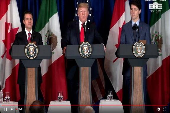 توافق جایگزین نفتا میان کانادا، آمریکا، و مکزیک امضا شد/ ترامپ به خواسته اش رسید