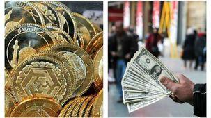قیمت طلا و سکه در بازار امروز 3 تیر/ دلار در بازار آزاد و صرافی ملی چند معامله شد؟