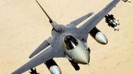 جنگنده اف- 16 آمریکا سقوط کرد