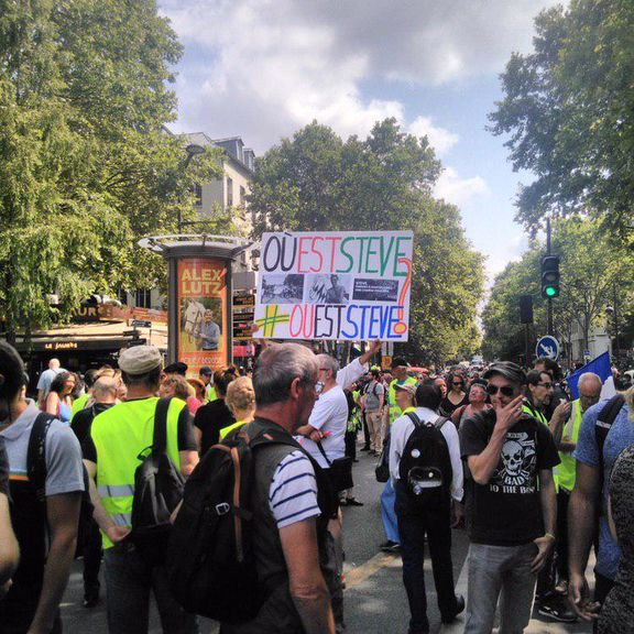 هفته سی و پنجم اعتراضات جلیقه زردها در فرانسه آغاز شد