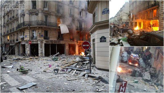 اولین تصاویر مربوط به انفجار پاریس منتشر شد + تصاویر