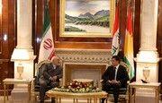 محمد جواد ظریف با نچیروان بارزانی دیدار و گفتگو کرد