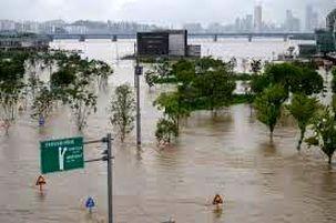 باران سیلآسا در کره جنوبی؛ ۱۳ کشته و ۱۰۰۰ آواره