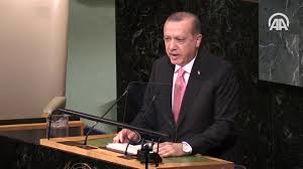 اعلام حمایت اردوغان از  فلسطین در نشست سازمان ملل