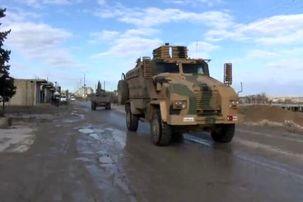 ترکیه کاروان نظامی سوریه را هدف گرفت