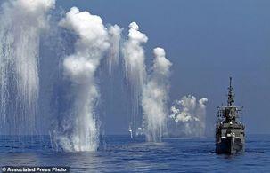 برگزاری رزمایش دریایی با گلوله های جنگی توسط تایوان