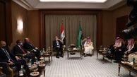 ریاض از حمایت  کامل خود برای حفظ منافع دولت عراق در منطقه خبر داد