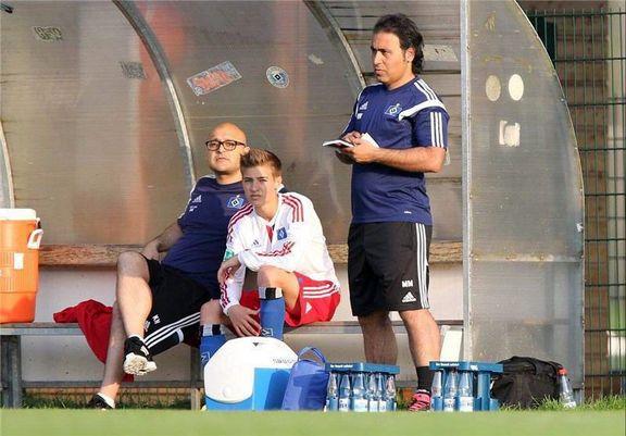 Mehdi Mahdavikia - coach of Hamburger SV