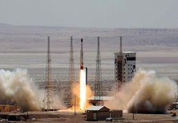 لحظه پرتاب ماهواره پیام امیرکبیر به فضا