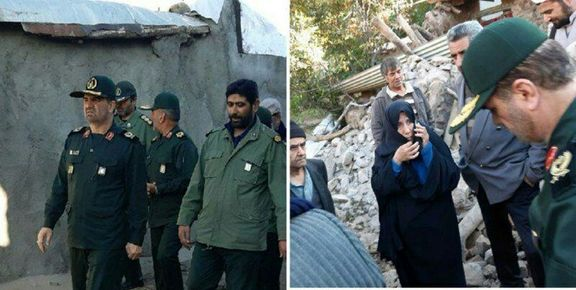 تصاویری از خسارت زلزله در روستای ورنکش شهرستان میانه