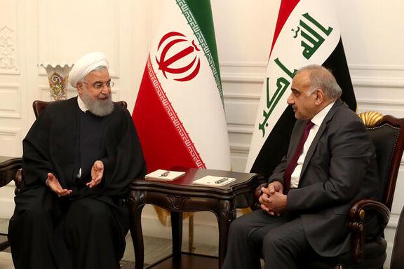 ۵ سند تفاهم همکاری مشترک میان ایران و عراق  امضا شد