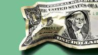 کاهش ارزش دلار پس از باقی ماندن تورم آمریکا در سطح بالای 5 درصد